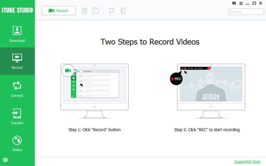 como baixar vídeos com o iTube Studio