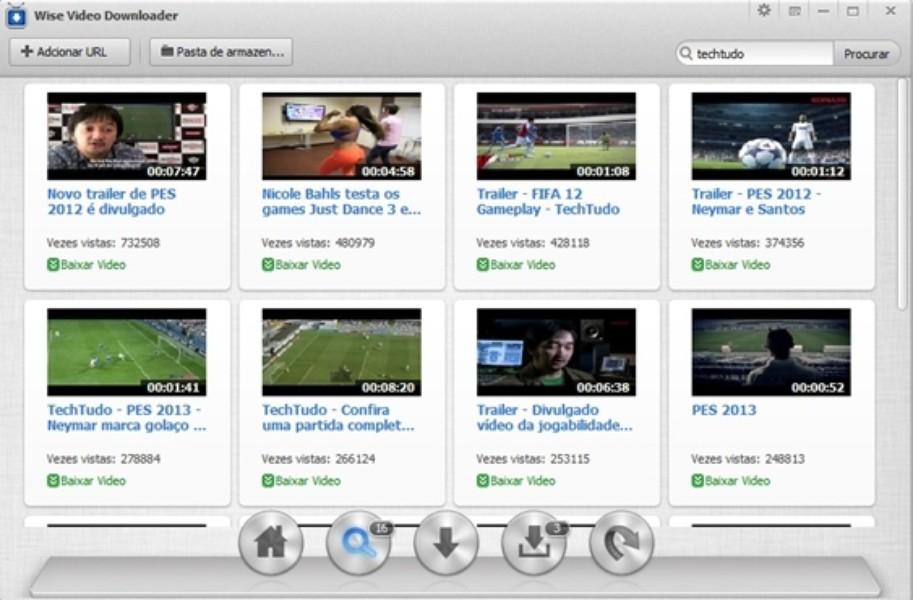 baixe vídeos com o wise video downloader para windows