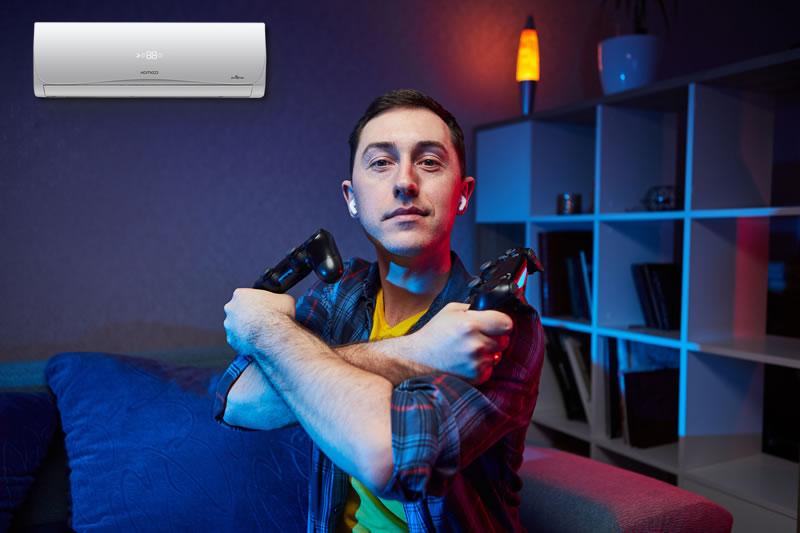 Como montar um quarto gamer com uma boa climatização