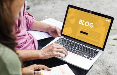 Monte um blog de conteúdo